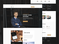 Crown - Law Firm Landing page