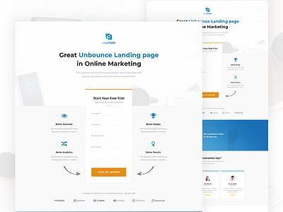 LeadPoint - Lead Generation Unbounce Landing Page Template landing page unbounce themeforest envato