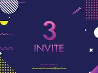 Dribbble Invitations ✌️