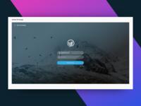 Login Page - Adobe XD