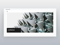 Architecture Portfolio - Adobe XD