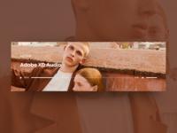 Audio Player Widget - Adobe XD