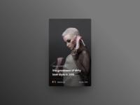 Blog Widget - Adobe XD