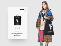 Gucci Product - Adobe XD