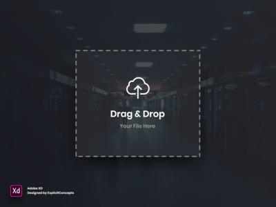 Drag Image Widget - Adobe XD