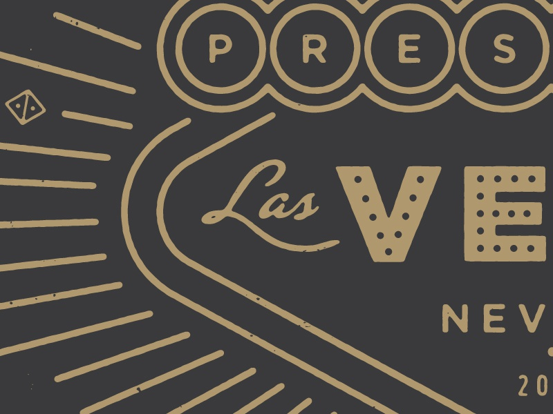 Prestige Preview Vegas 2015 prestige wordpress conference vegas nevada diamond gambling branding shirt vintage monoline