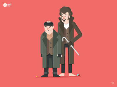 No.2 Home Alone movie film holiday christmas wet bandits home alone vector illustration