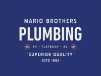 Mario Brothers Plumbing