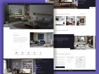 Landing page design - Rich Vitrified