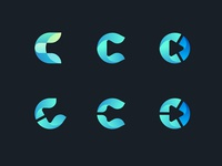 Exploring letter C Logo for Cryptomedic