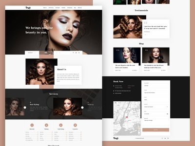 Razzle - Beauty Salon Template
