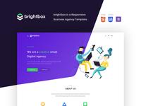 Brightbox - Business Agency Temlpate