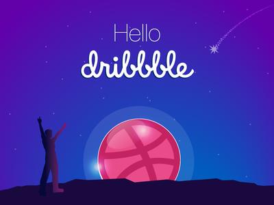 Hello Dribbble,