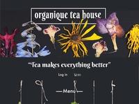 Organic Tea House Website Design