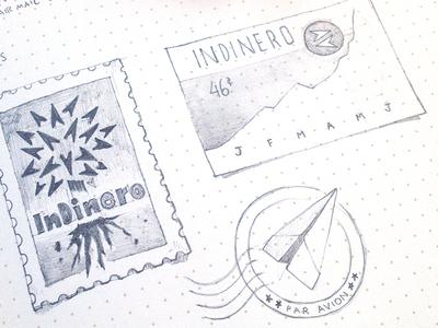 Indinero Stamp