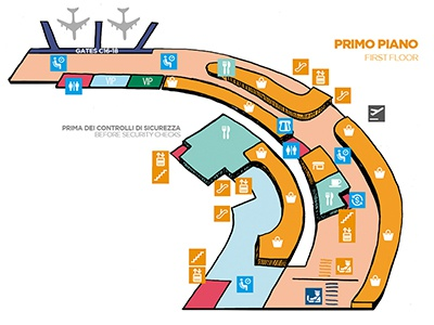 Airport Naples charter service map airport