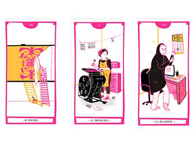 Tarot of communication poster deadline typography communication tarot