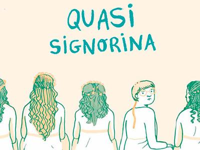 Quasi Signorina doubt woman religion girl adventure children comics book book