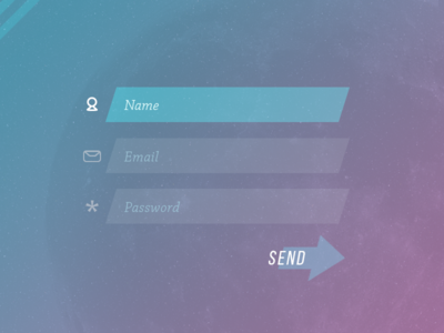 Daily UI Challenge #01 - Signup