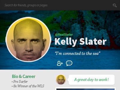 Daily UI #06 - Profile Page