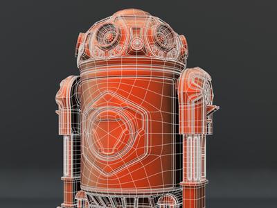 Star Wars Droid star wars droid robots scifi lightwave3d wip 3d steampunk