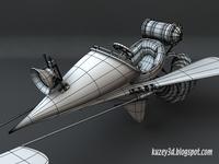 Dart Flying Machine: wip4