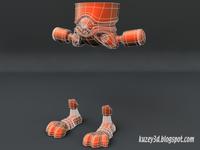 Robot Bunny wip2