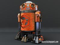 Star Wars Droid: Textured