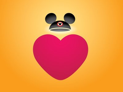 Disneyland Takes Sick Leave illustration vector art adobe illustrator vector