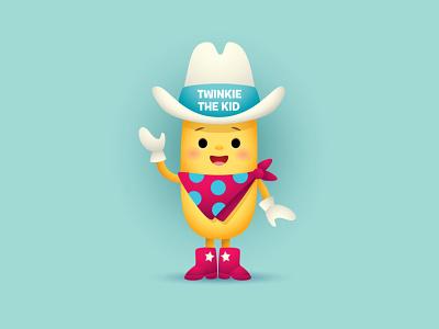 Twinkie The Kid character design mascot illustration jmaruyama jerrod maruyama cute