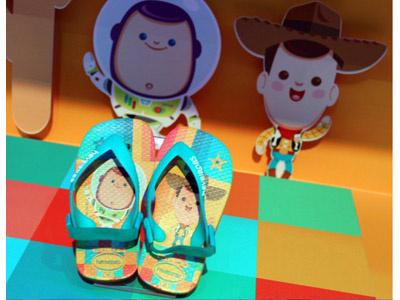 Kawaii Toy Story Sandals kawaii cute toy story woody buzz lightyear pixar disney jerrod maruyama
