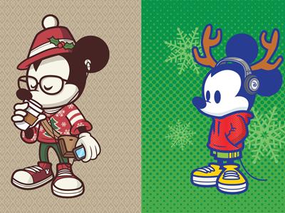 Mickeyholiday dribbble