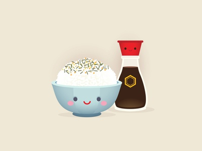 Comfort Food adobe illustrator vector jmaruyama character design illustration jerrod maruyama kawaii cute