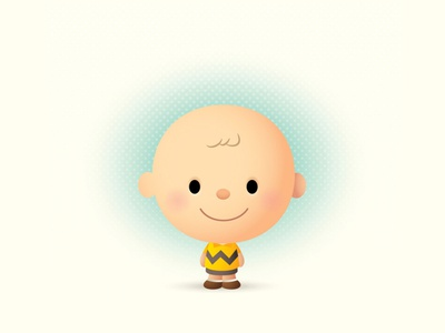 Peanuts adobe illustrator vector illustration kawaii character design cute jerrod maruyama