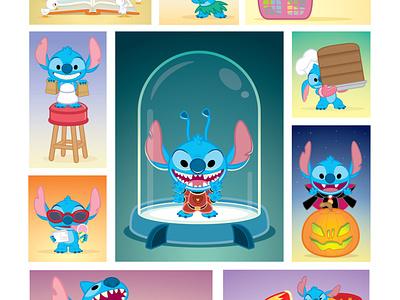 Experiment of Cute wonderground gallery adobe illustrator vector illustration jmaruyama character design disney kawaii jerrod maruyama cute