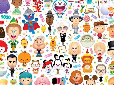 2020 vector adobe illustrator illustration jmaruyama character design kawaii jerrod maruyama cute