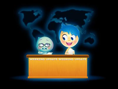 Weekend Update - Pixar Edition pixar vector adobe illustrator illustration disney character design jerrod maruyama cute