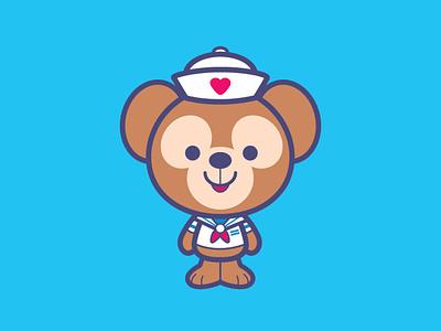 Duffy vector adobe illustrator illustration jmaruyama character design disney kawaii jerrod maruyama cute