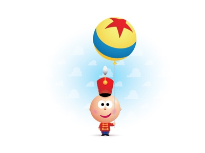Pixar 35th pixar adobe illustrator illustration vector jmaruyama character design disney kawaii jerrod maruyama cute