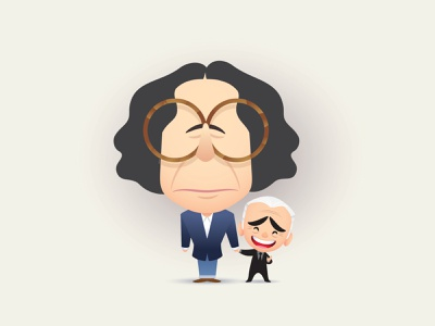 Frannie and Marty adobe illustrator vector illustration character design jerrod maruyama