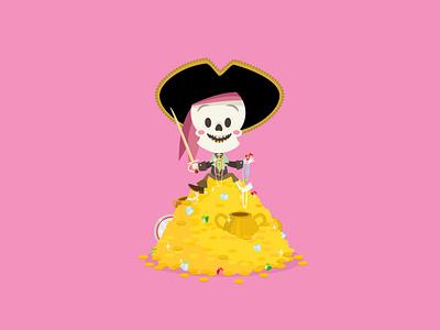Pirates of The Caribbean disneyland jmaruyama vector adobe illustrator illustration kawaii character design disney jerrod maruyama cute