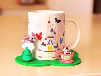 Disney x Jerrod Maruyama - Mug disneyland wonderground gallery illustration jmaruyama character design disney kawaii jerrod maruyama cute