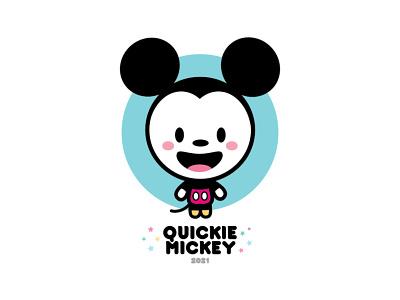 Quickie Mickey 2021 mickey mouse jmaruyama adobe illustrator illustration character design disney kawaii jerrod maruyama cute