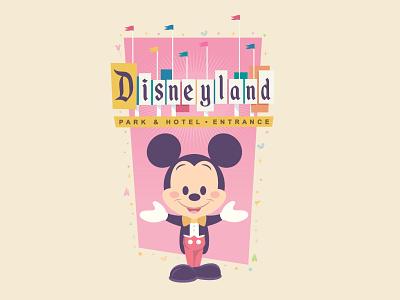 Disneyland 2021 jmaruyama kawaii mickey mouse vector adobe illustrator illustration character design jerrod maruyama cute