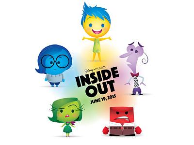Inside Out sadness fear disgust anger joy jerrod maruyama inside out pixar disney
