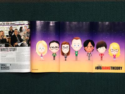 Big Bang Theory Line-up
