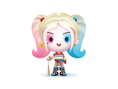 Daddy's Lil Monster suicide squad dc harley quinn