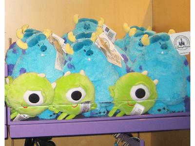 Monsters Plush sulley mike shanghai disney resort monsters inc. pixar disney