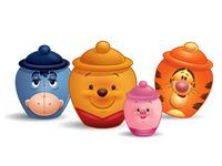 Winnie The Pooh Hunny Pots