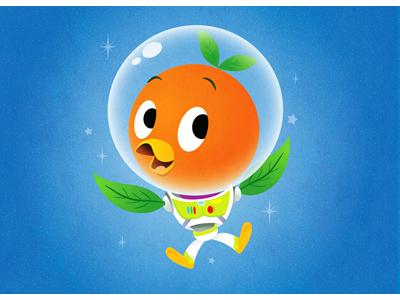 Orange Bird Lightyear